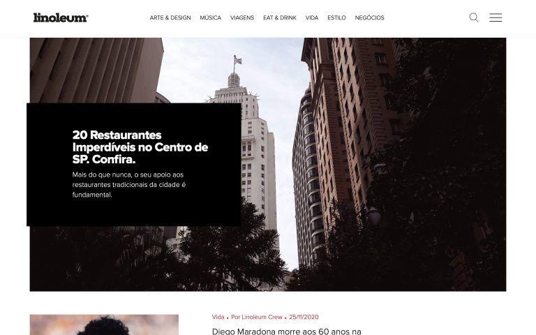 Linoleum - Blog